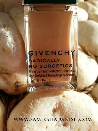 Givenchy Foundation review - Samiksha Danish
