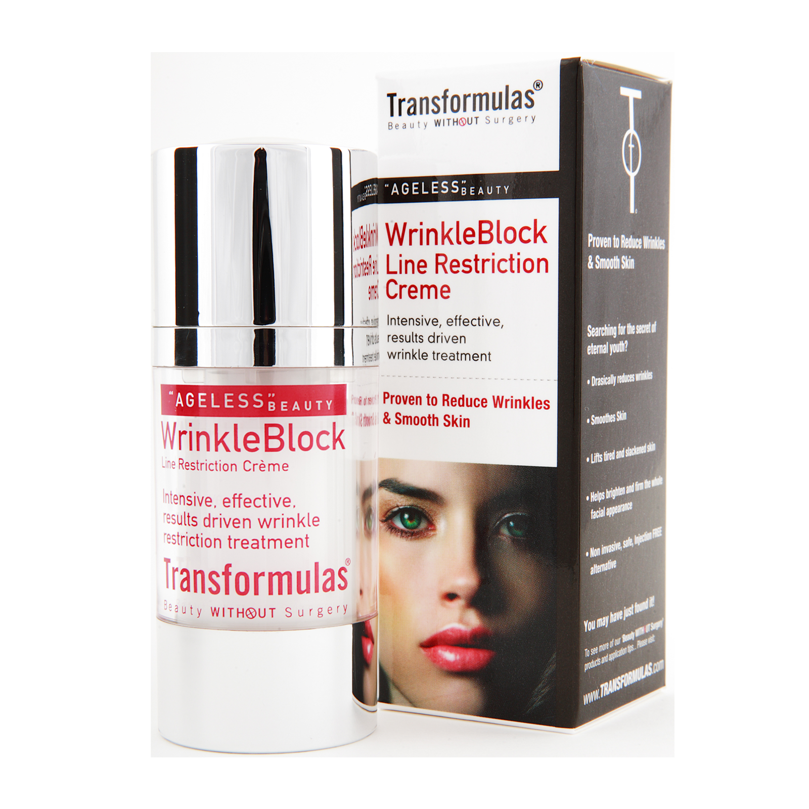 Transformulas Wrinkle Block Line Restriction Creme 15ml Alternate to Syn-ake