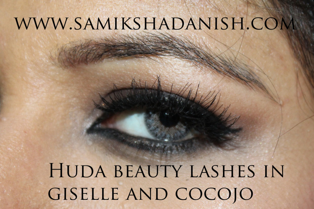 Huda beauty lashes - Samiksha Danish