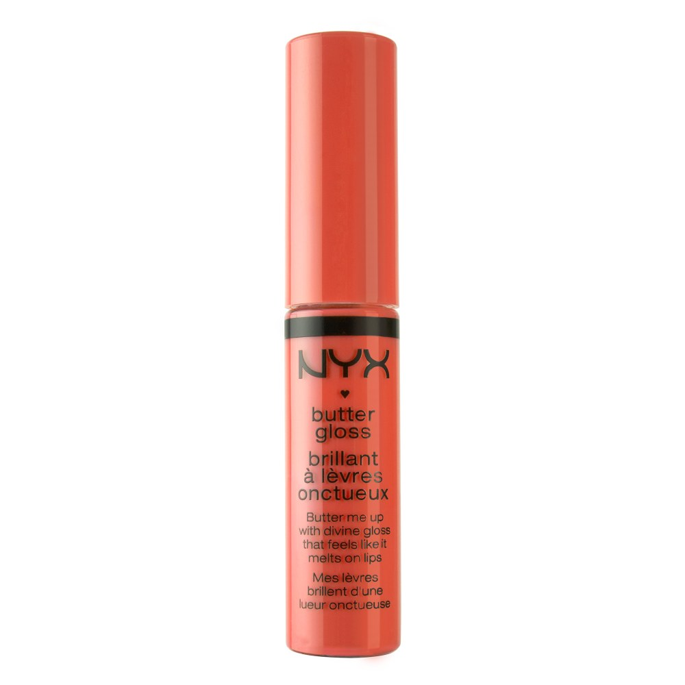 NYX butter gloss- cherry Cheesecake- Samiksha danish