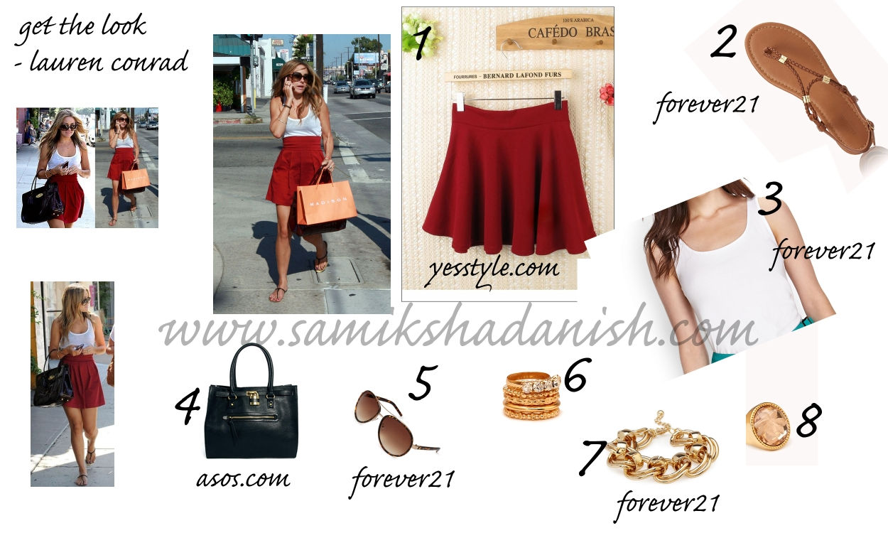 Get the Look - Lauren Conrad's look for LESS
