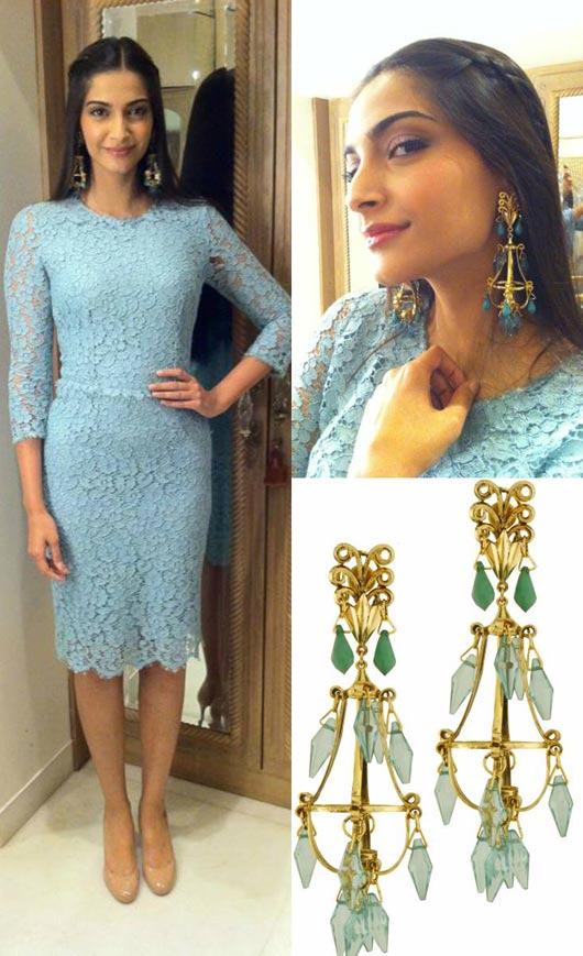 Get the look- Sonam Kapoor