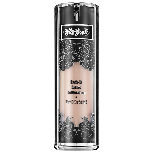 Kat von D lock it foundation - Samiksha Danish