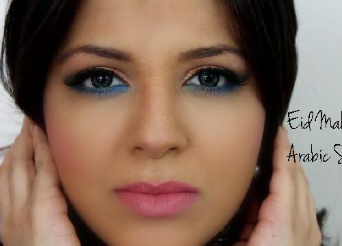 Arabic makeup Eid Special