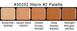 Graftobian Warm Palette 2